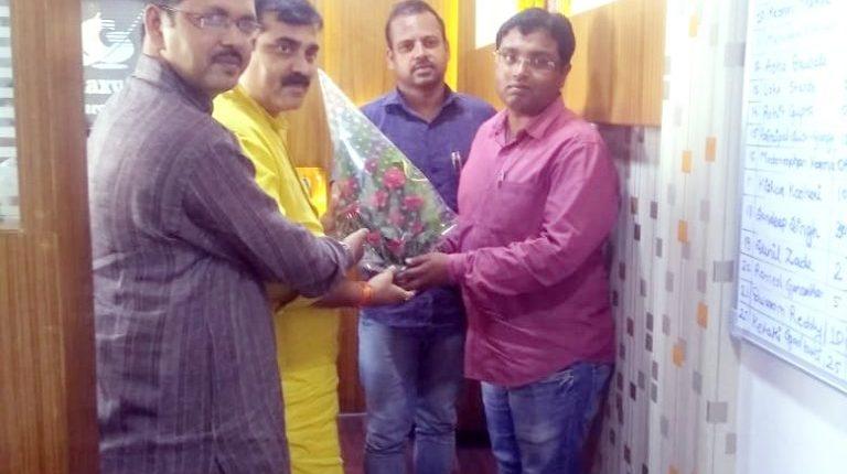 Meet with M. L. A. of Patna Mr. Manoj Kumar | Galaxy Solar Energy Pvt.Ltd