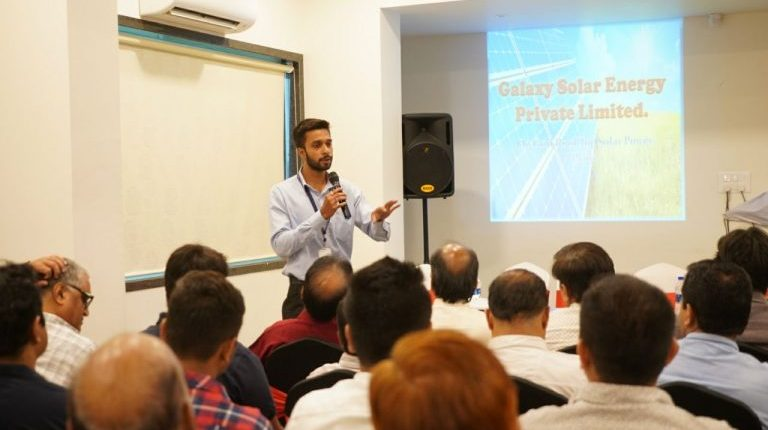 Company Presentation in Hotel Brij Inn | Galaxy Solar Energy Pvt.Ltd