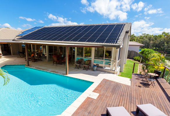 Rooftop Solar Panels for Home
